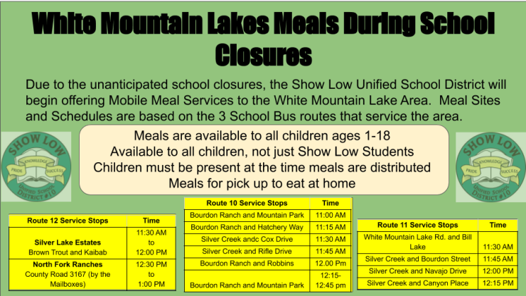 Meal Programs during School Closures Show Low Unified Schools 3-23 (1)